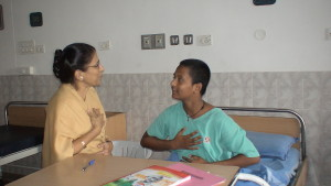 Counseling in progress