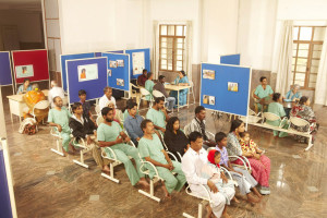 Patients waiting for counselling