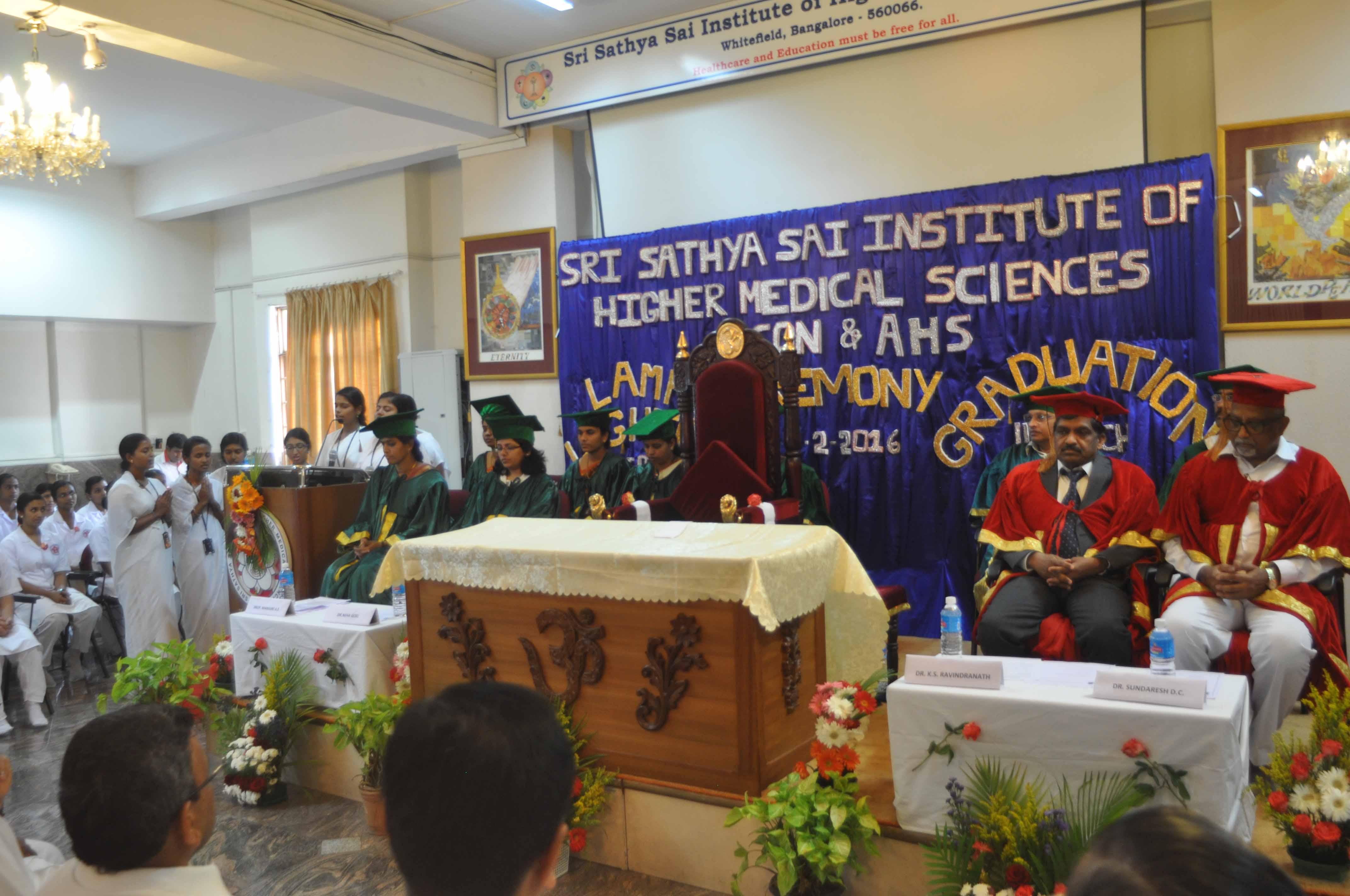 Graduation stage