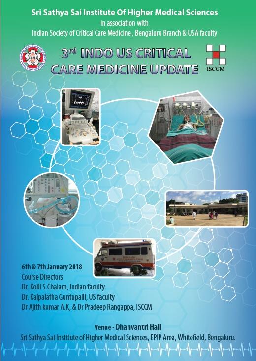 3rd Indo Us Critical Care Medicine Update