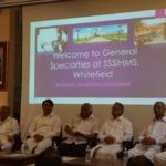 Inauguration of SSSGH at SSSIHMS, Campus